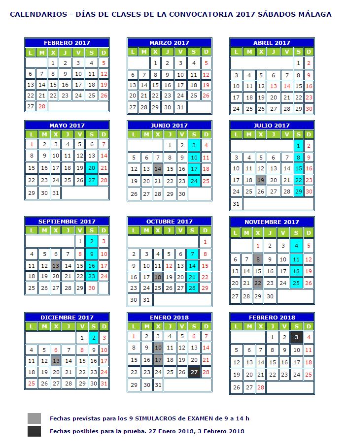 calendario-sabados-malaga