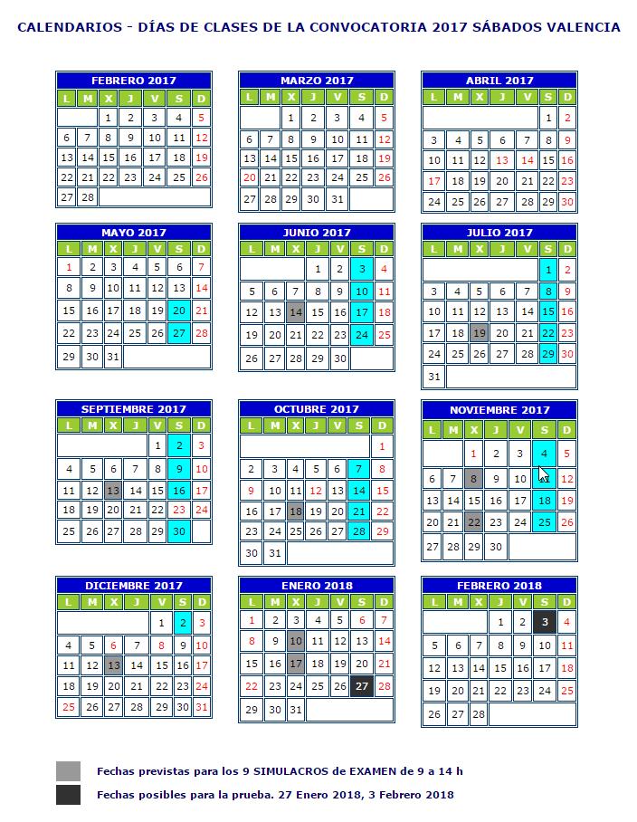 calendario-sabados-valencia
