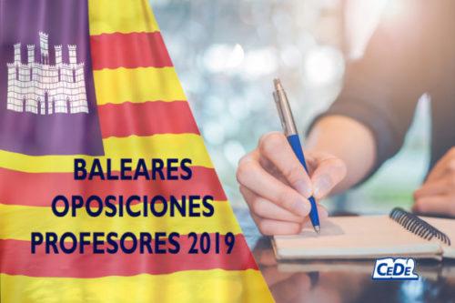 Baleares: Convocadas oposiciones