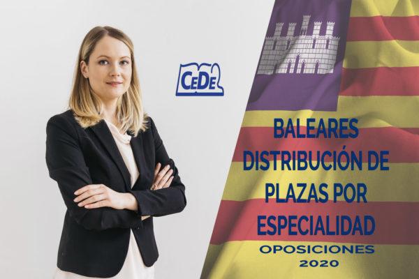 Baleares convocará 1144 plazas