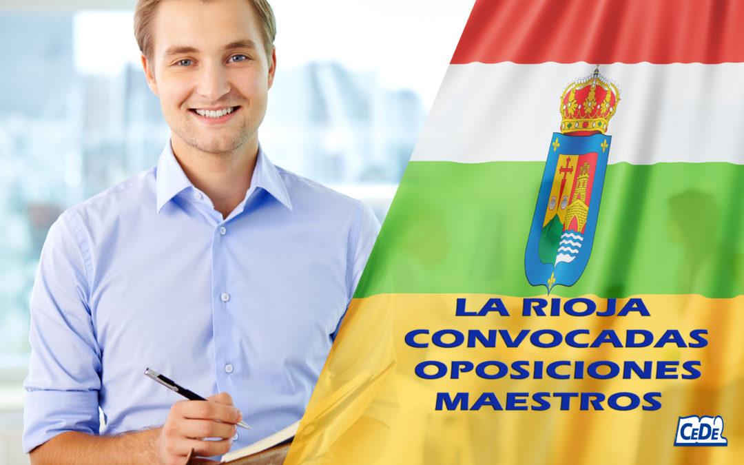 La Rioja: Convocadas oposiciones para el cuerpo de Maestros
