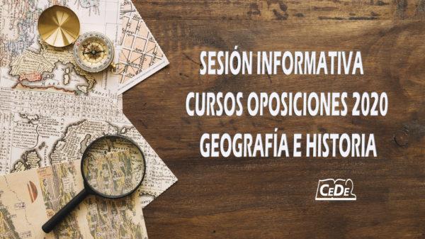 oposiciones Geografía e Historia