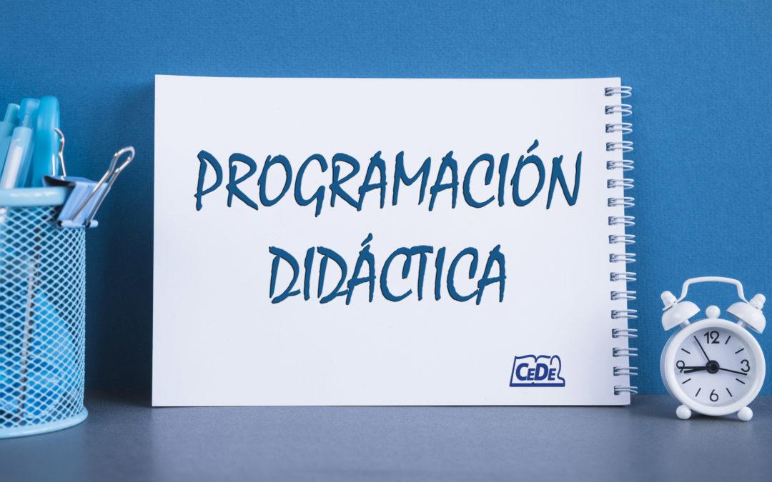 20 – Como preparar la exposición oral (programación y unidad didáctica)