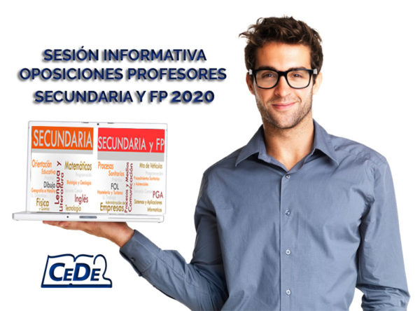 SESIÓN INFORMATIVA OPOSICIONES 2020 SECUNDARIA Y FP