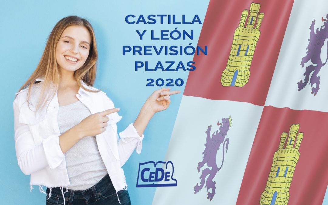 Castilla y León: 1.178 plazas para educación en 2020