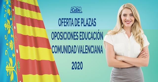 Comunidad Valenciana: Borrador OPE educación 2020