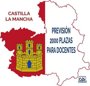 Castilla La Mancha se prevén 2000 plazas