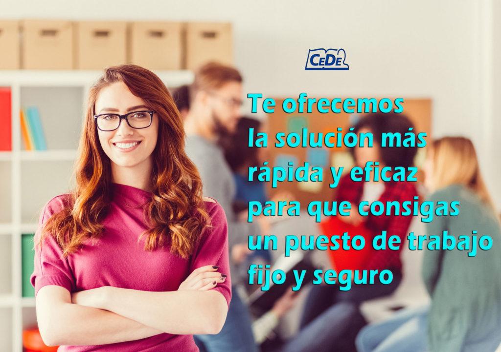 Preparación oposiciones Cede: Asiste a una clase gratis