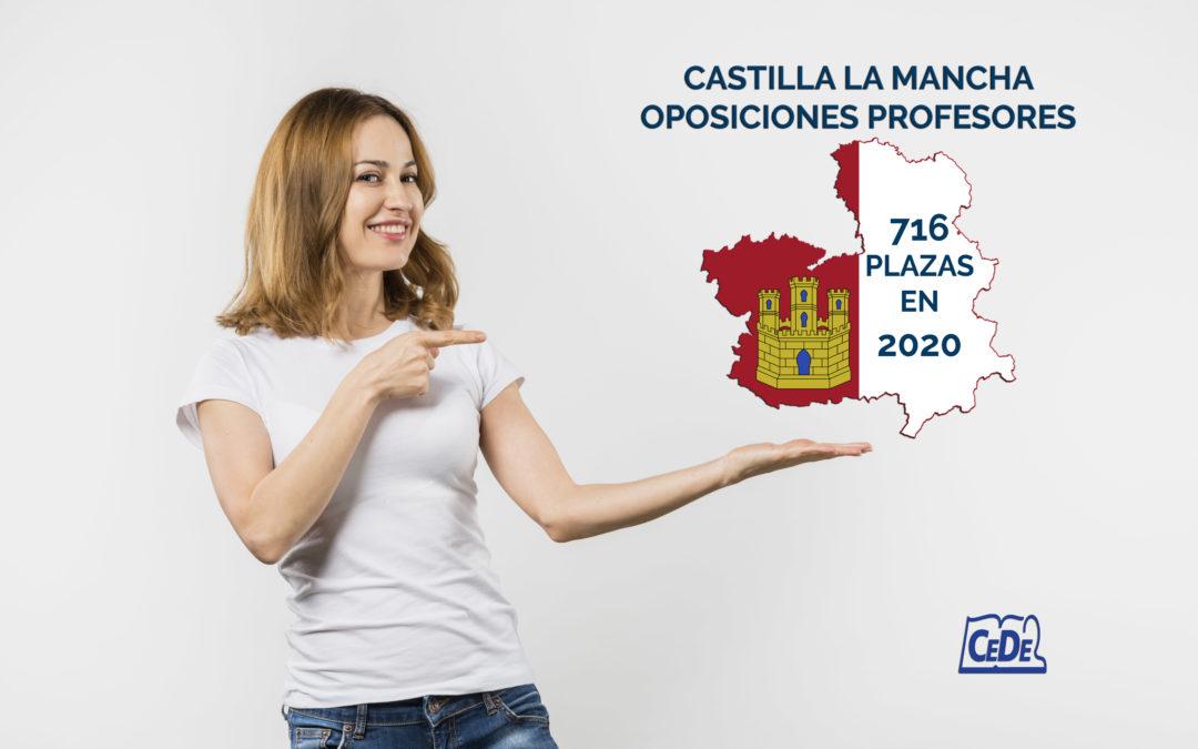 Castilla La Mancha previsión de plazas por especialidad oposiciones 2020