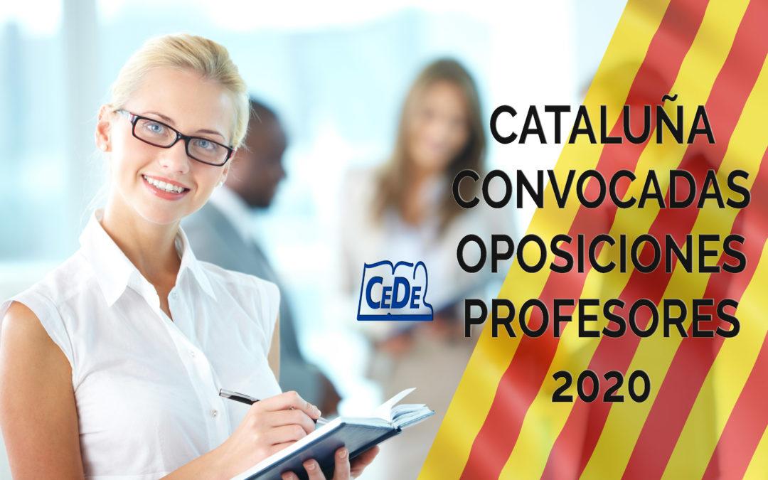 Cataluña convocadas oposiciones profesores 2020