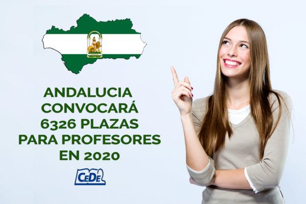 Andalucia convocará 6326 plazas para profesores en 2020