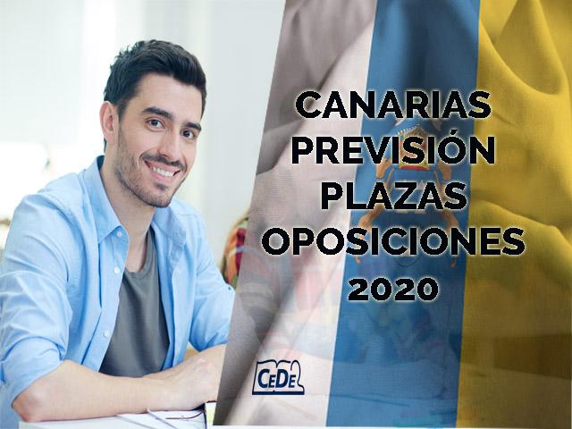 Canarias previsión de plazas oposiciones profesores 2020