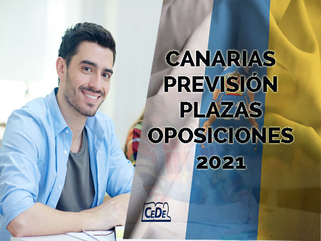 Canarias previsión definitiva de plazas oposiciones profesores 2021
