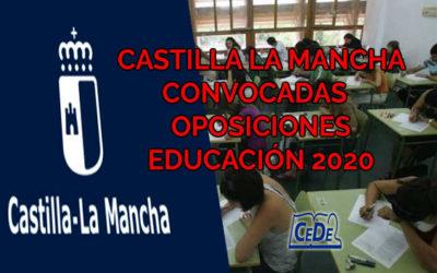 Castilla La Mancha publicadas oposiciones educación 2020