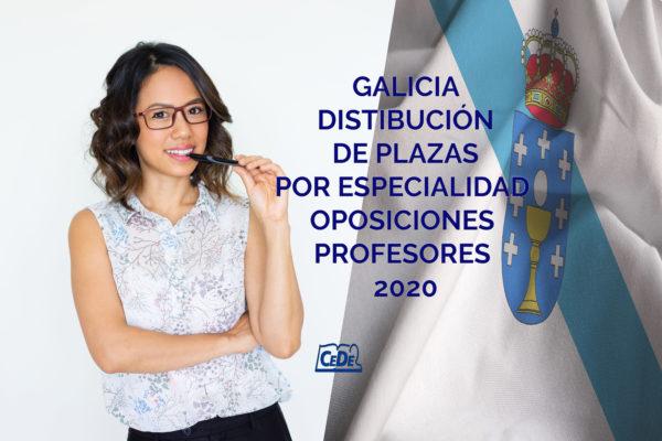Galicia distribución definitiva de plazas por especialidad