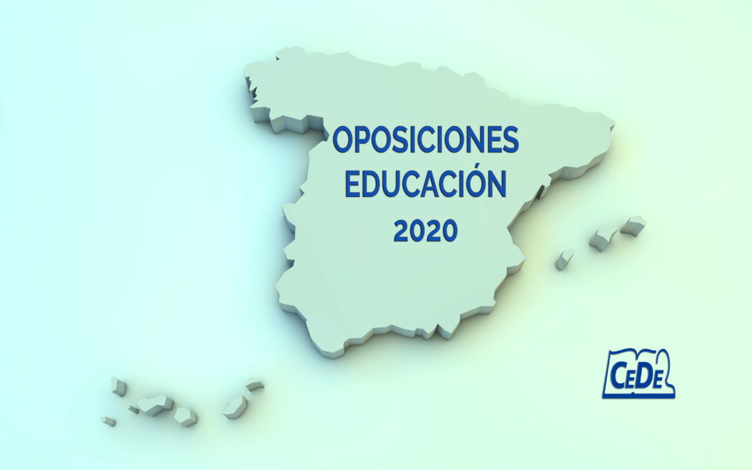 Situación de las oposiciones profesores 2020