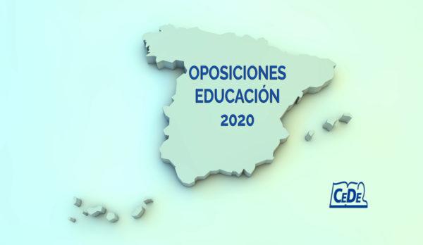 Situación de las oposiciones a profesores en 2020