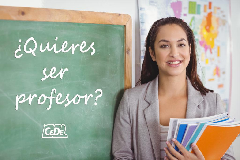 Estás pensando en ser Profesor