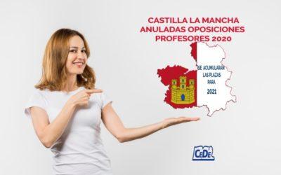 Castilla La Mancha anula las oposiciones de 2020