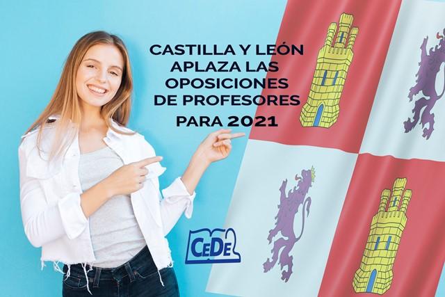 Castilla y León aplaza las oposiciones