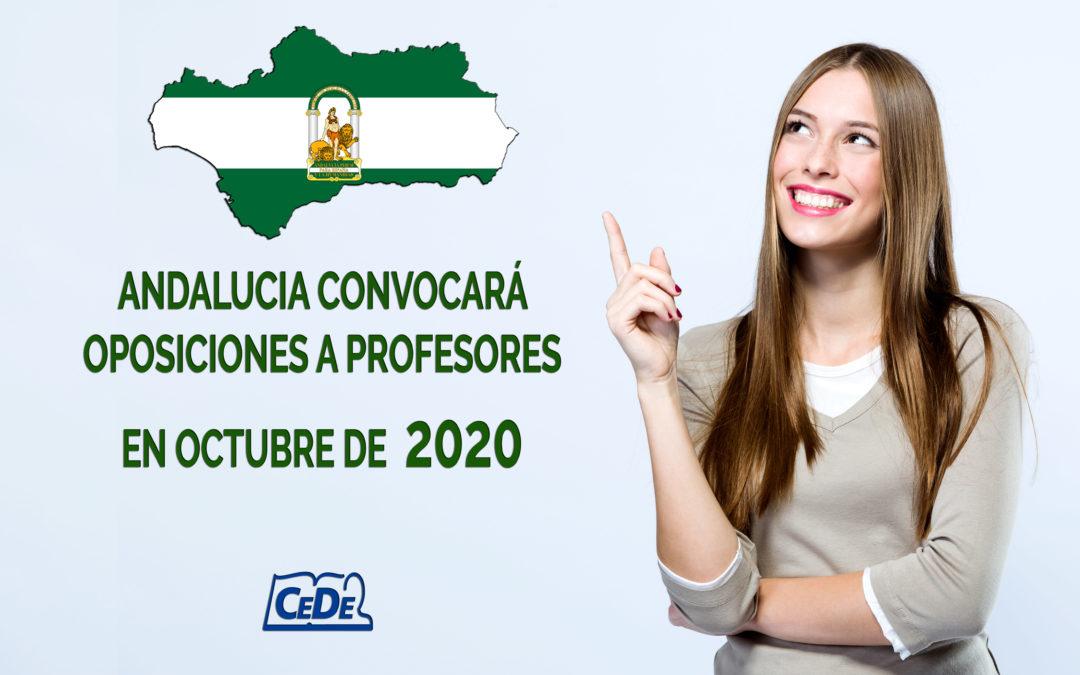 Andalucía  publicará oposiciones de profesores en octubre o noviembre