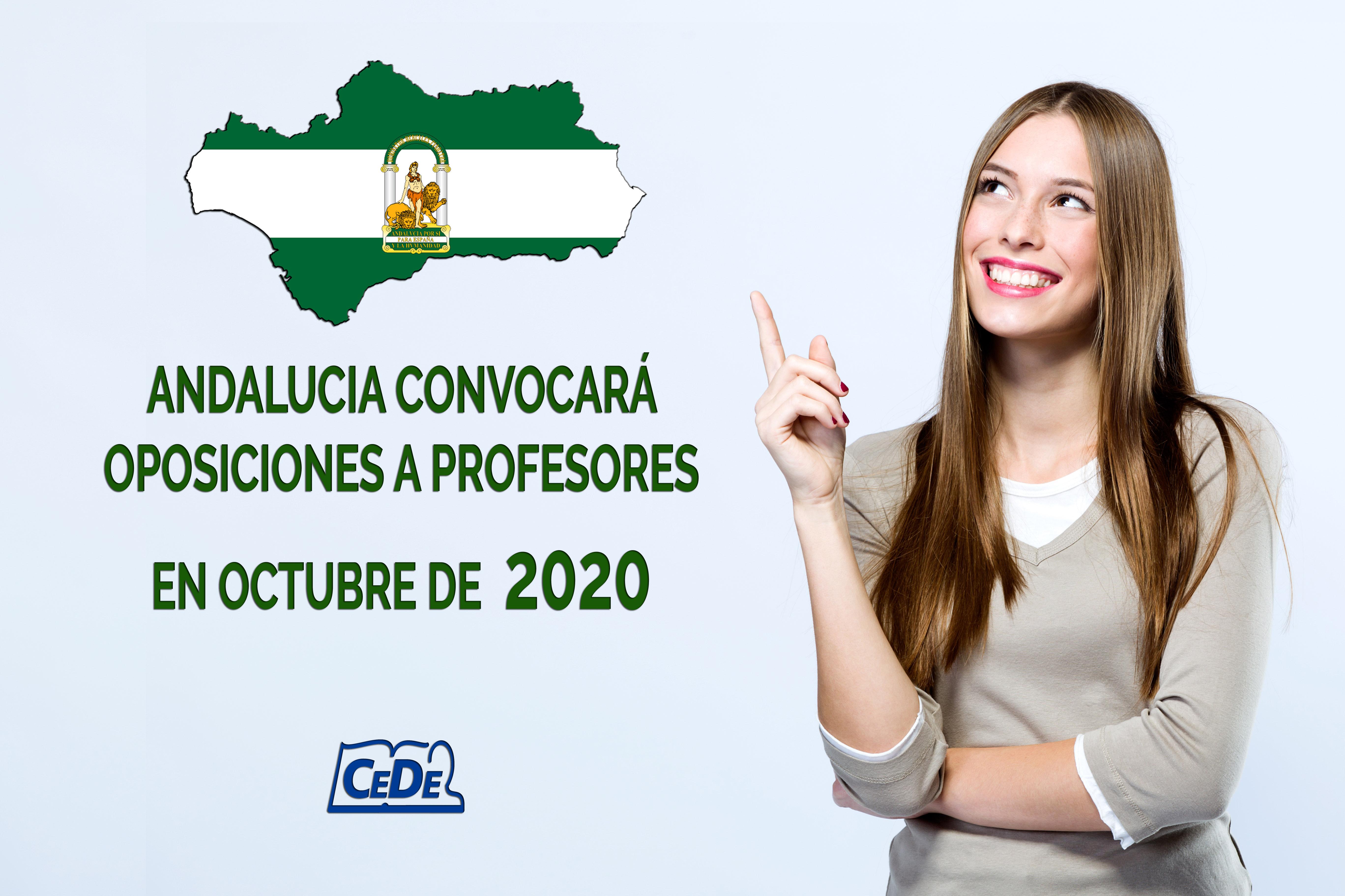 Andalucía convocará oposiciones de profesores