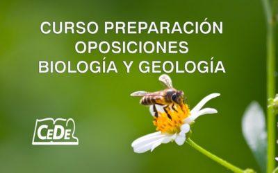 Curso preparación oposiciones Biología y Geología
