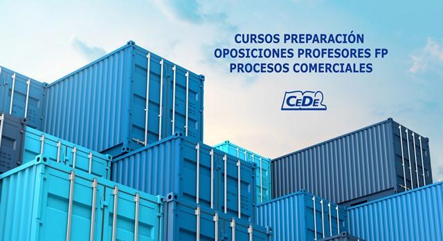 Curso preparación oposiciones Procesos Comerciales