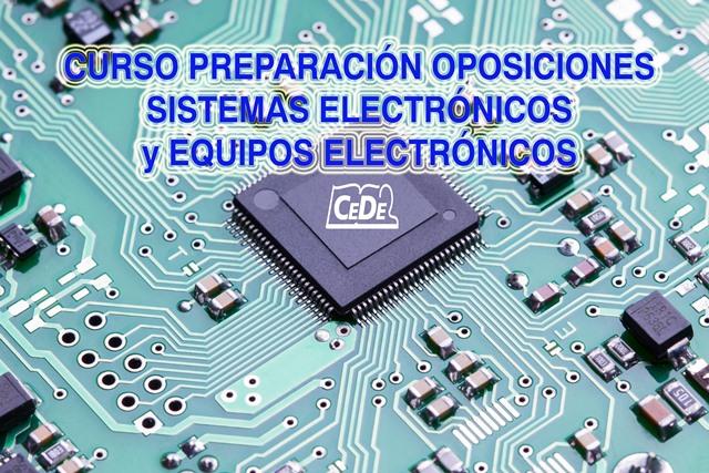 Curso preparación oposiciones Sistemas y Equipos Electrónicos