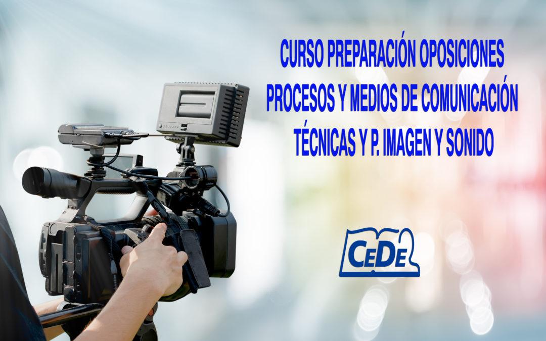 Curso preparación oposiciones Procesos y Medios de Comunicación