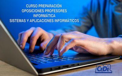 Curso preparación oposiciones Informática y Sistemas informáticos