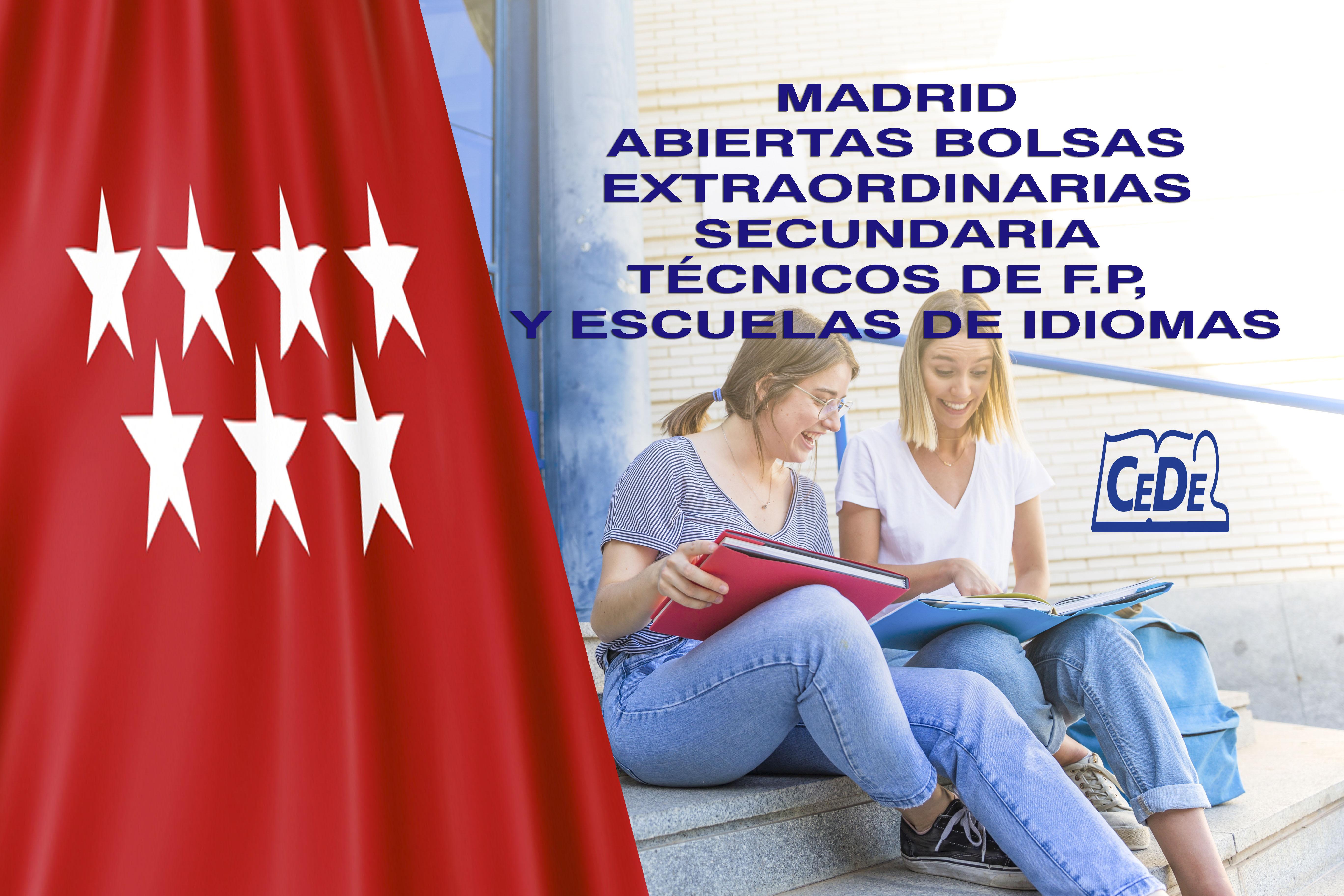 Madrid abiertas bolsas extraordinarias
