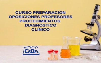 Curso preparación oposiciones Procedimientos Diagnostico Clínico