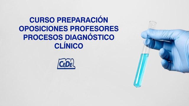 Curso preparación oposiciones Procesos Diagnostico Clínico
