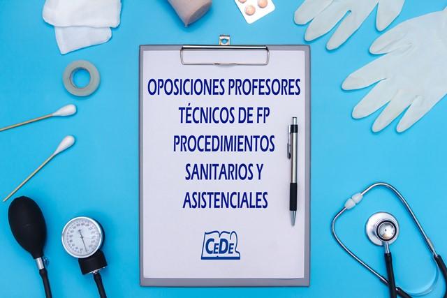Curso preparación oposiciones Procedimientos Sanitarios y Asistenciales