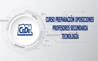 Curso preparación oposiciones profesores Tecnología