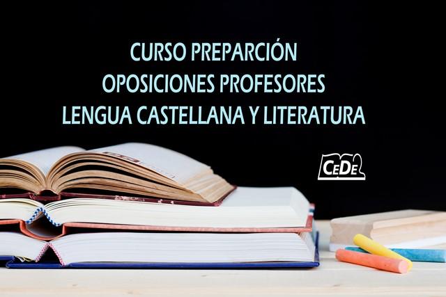 Curso de preparación oposiciones: Lengua Castellana y Literatura