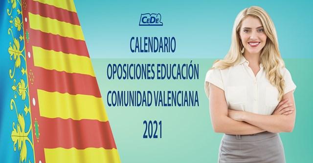 Calendario oposiciones 2021
