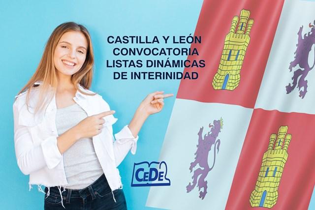 Castilla y León convocatoria listas dinámicas de interinidad