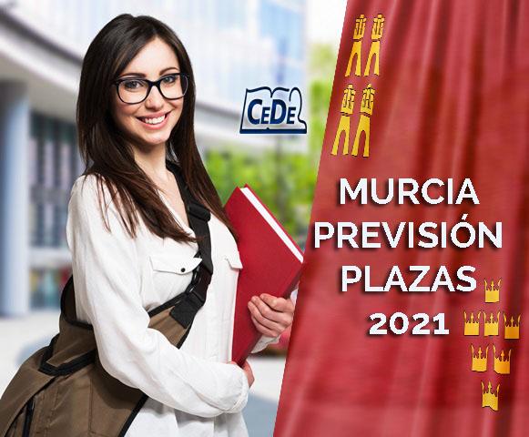 Murcia propuesta de plazas oposiciones profesores 2021