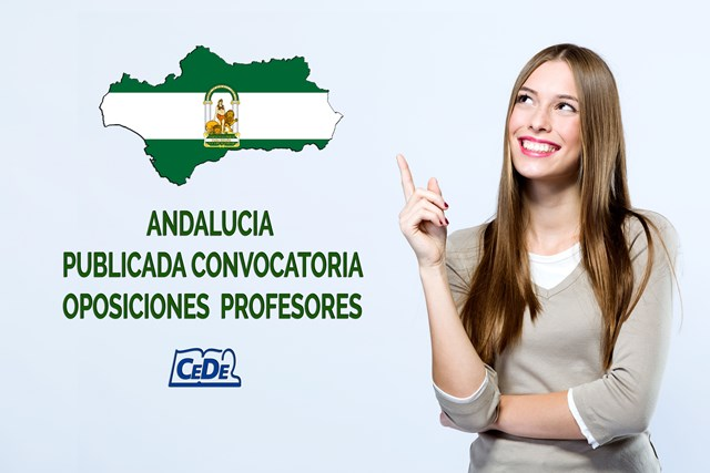 Andalucía publicada convocatoria oposiciones profesores