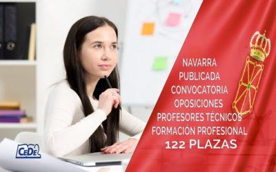 Navarra convoca 122 plazas de Profesores Técnicos de FP