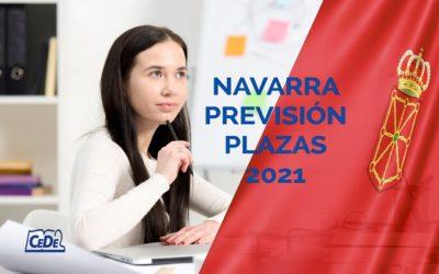 Navarra previsión plazas oposiciones educación 2021