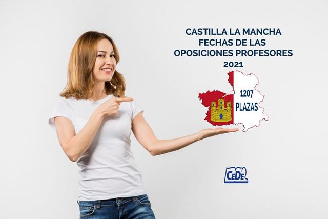 Castilla la Mancha fechas oposiciones profesores 2021