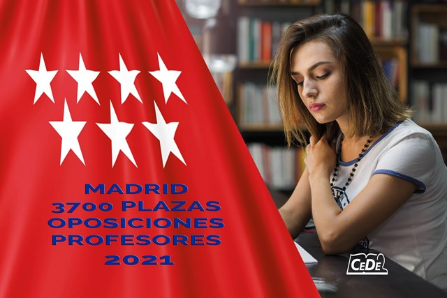 MADRID 3700 PLAZAS OPOSICIONES PROFESORES