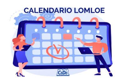 LOMLOE: Calendario de implantación