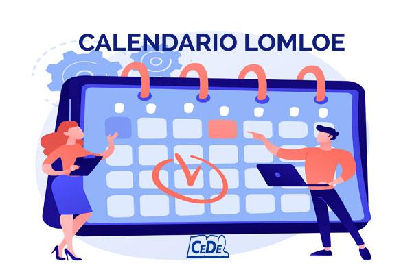 CALENDARIO LOMLOE
