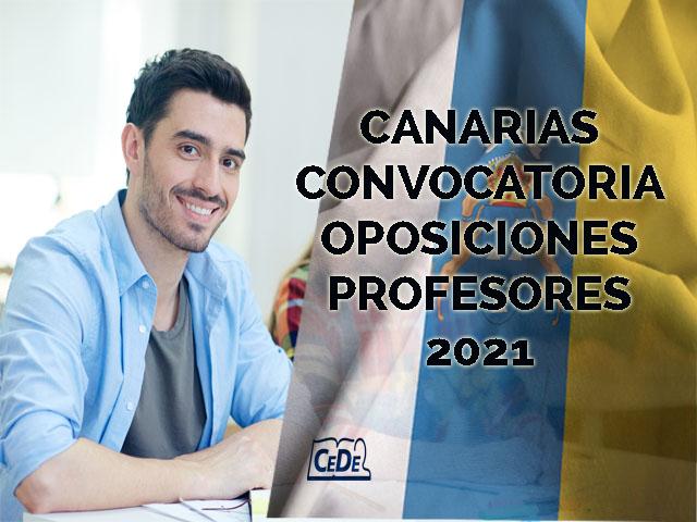 Canarias publicada convocatoria oposiciones profesores