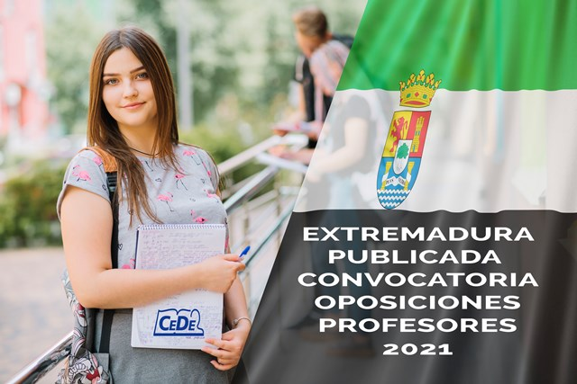 Extremadura publicada convocatoria de oposiciones a profesores