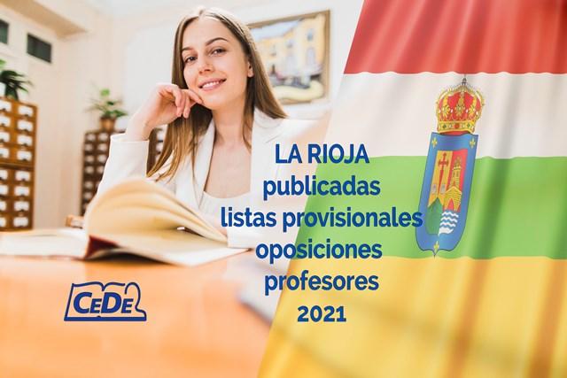 La Rioja publicadas listas provisionales de admitidos
